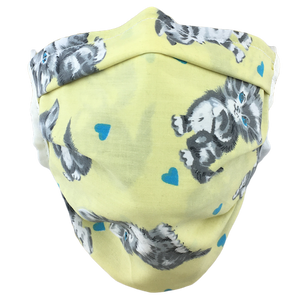 Kittens Yellow - Surgical Style Face Mask