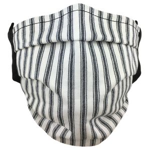 Black Stripes - Surgical Style Face Mask