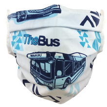 Load image into Gallery viewer, Hawaiian Bus - Surgical Style Face Mask