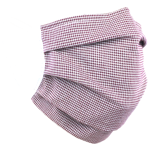 Gingham Check Red - Surgical Style Face Mask