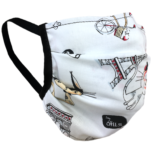 Paris Cats - Surgical Style Face Masks