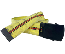 "Load image into Gallery viewer, TekTailor Fire Hose Belt ""Petaluma"" - made from upcycled fire hose"