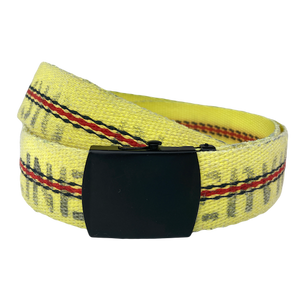 "TekTailor Fire Hose Belt ""Petaluma"" - made from upcycled fire hose"