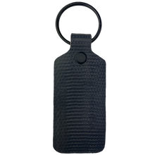 Load image into Gallery viewer, Grey TekTailor Key Chain made from upcycled fire hose