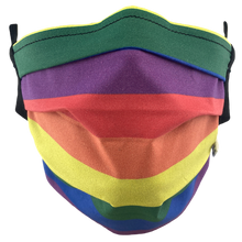Load image into Gallery viewer, Rainbow Pride - Surgical Style Face Mask