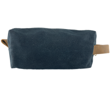 Load image into Gallery viewer, Waxed Canvas Dopp Kit Black