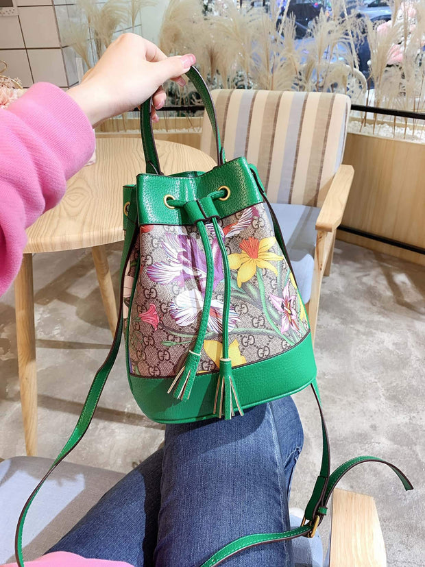 Ophidia  Flora small bucket bag