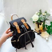 The Medium Rucksack black color