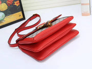 Queen Margaret RED small top handle bag