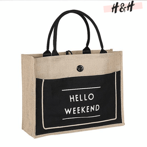 "Harry and Hope DESIGN - Cabas ""Hello Weekend"""