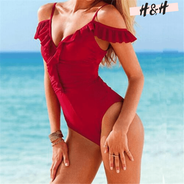 Harry and Hope DESIGN - Maillot 1 pièce col V