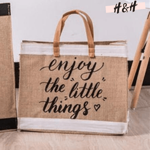 "Harry and Hope DESIGN -  Cabas ""Enjoy the little things"""