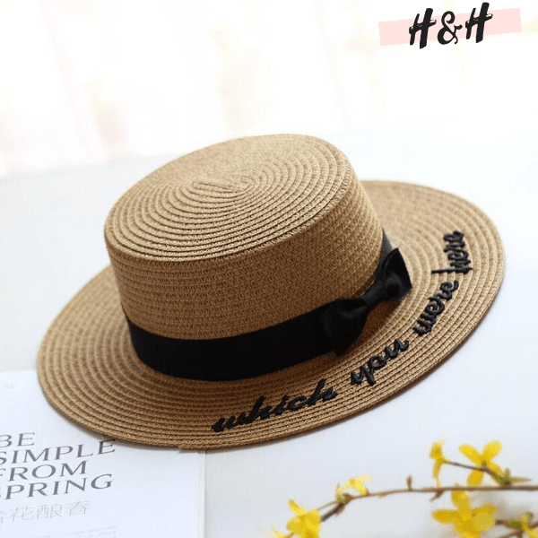 "Harry and Hope DESIGN - Chapeau ""Which you were here"""