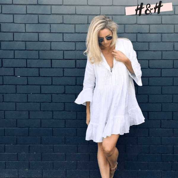 Harry and Hope DESIGN - Mini robe blanche