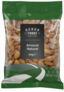 Genoa Foods Almond Natural 350G