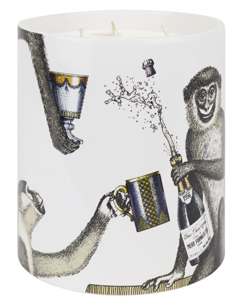 Load image into Gallery viewer, FORNASETTI LARGE APERITIVO CANDLE 67 OZ