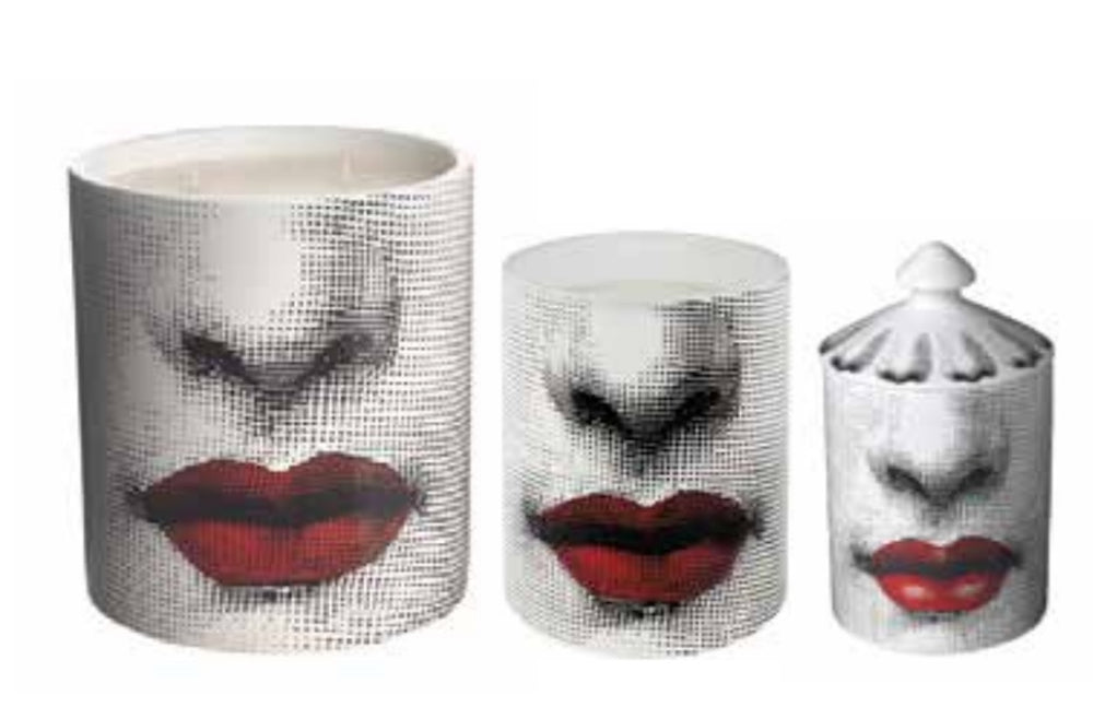 FORNASETTI LARGE BACIO CANDLE 67 OZ