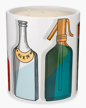 FORNASETTI LARGE COCKTAIL CANDLE 67 OZ