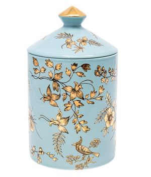 Load image into Gallery viewer, FORNASETTI SMALL FLORA COROMANDEL CANDLE 10.5 OZ