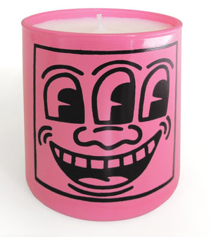 "Load image into Gallery viewer, KEITH HARING ""PINK MASK"" 5 0Z"