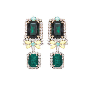 MIGNONNE GAVIGAN ISABELLA GREEN EARRINGS