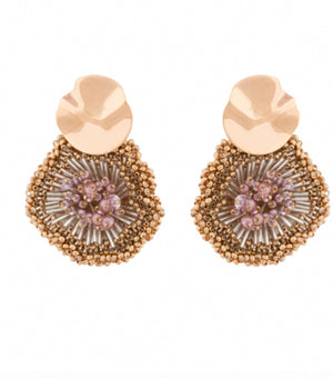 MIGNONNE GAVIGAN MILLY BEADED EARRINGS
