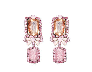 MIGNONNE GAVIGAN ISABELLA PINK EARRINGS