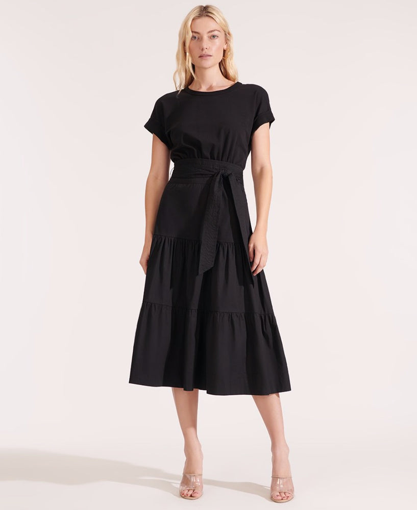Load image into Gallery viewer, VERONICA BEARD TRAIL DRESS BLACK