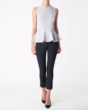 Load image into Gallery viewer, VERONICA BEARD CROPPED METRO PANT IN BLACK