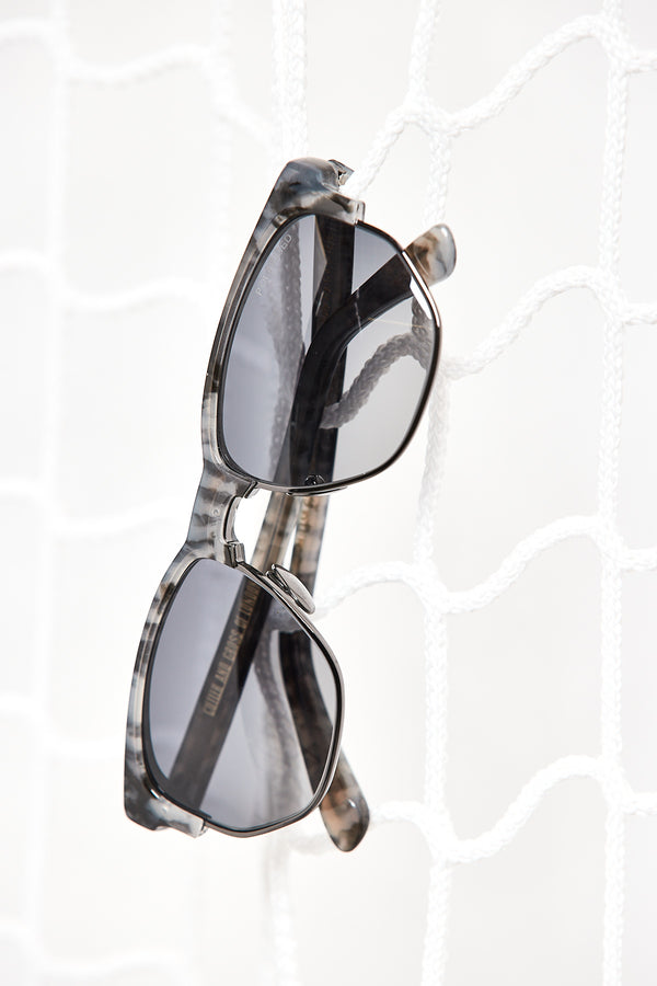 Grey Leoprint Sunglasses