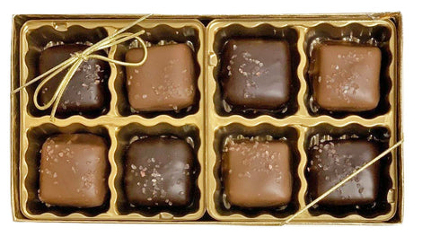 7pc Sea Salt Caramel Gift Box - 12ct
