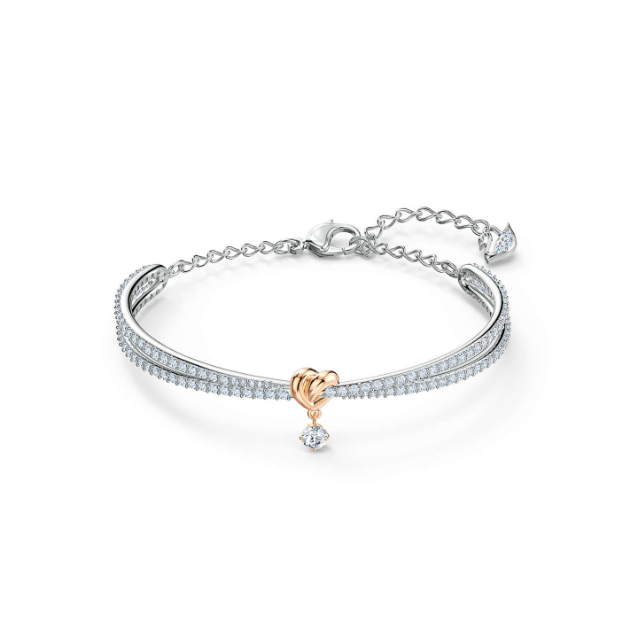 Swarovski Bracciale rigido Lifelong Heart