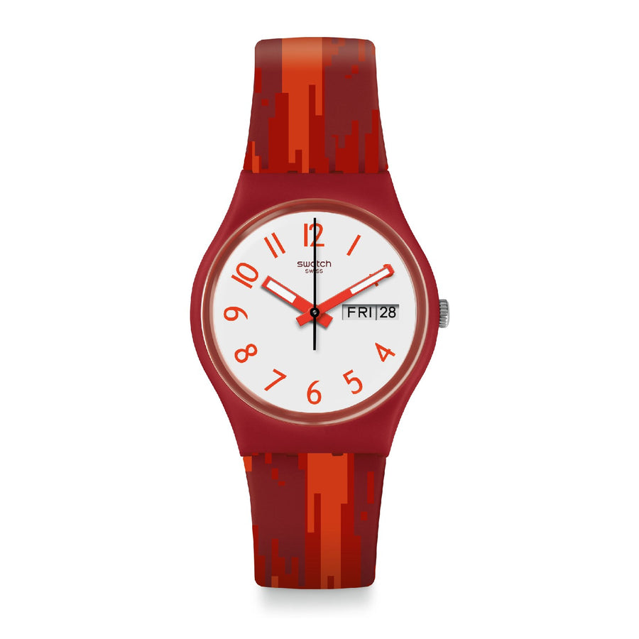Swatch Red Flame
