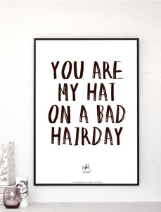 BAD HAIRDAY / Plakat