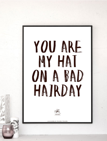 Poster - Bad Hairday