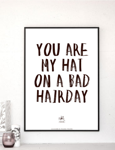 BAD HAIRDAY / Poster