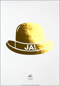 JAHAT! / Poster - Gold