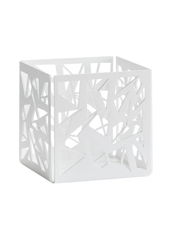 GEOHYGGE / Container / Candleholder - Small White