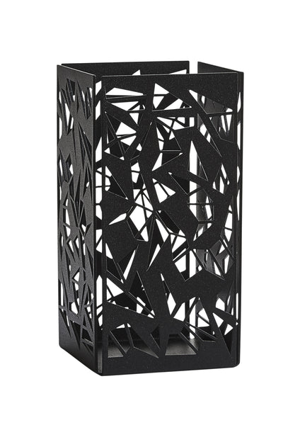 GEOHYGGE / Container / Candleholder - Large Black