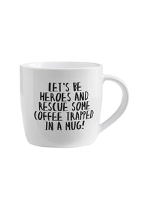 Mug - LET'S BE HEROES - 300 ml