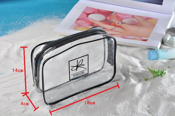 3-i-1 Toilet Bag / Beach Bag / Makeup Purse