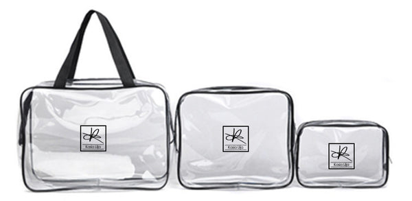 Toilet Bag - 3-in-1, Toilet, Beach and Makeup Bag - Ready