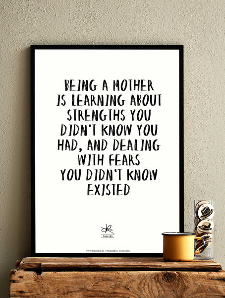 MOTHERS DAY - Card / Poster