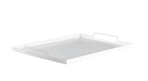 SERV - Turning Tray - White - L42 x W31 x H3,7 cm