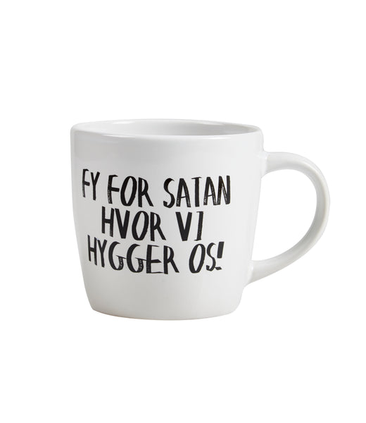 Krus - FY FOR SATAN HVOR VI HYGGER OS! - 300 ml