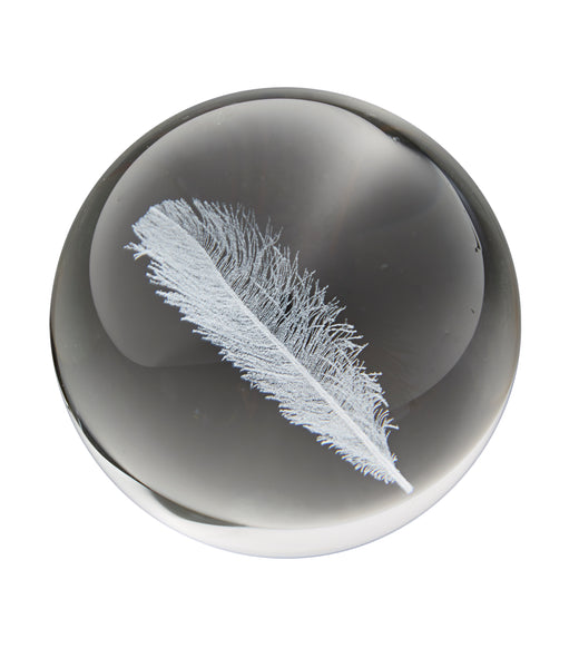 FEATHER - Crystal Globe
