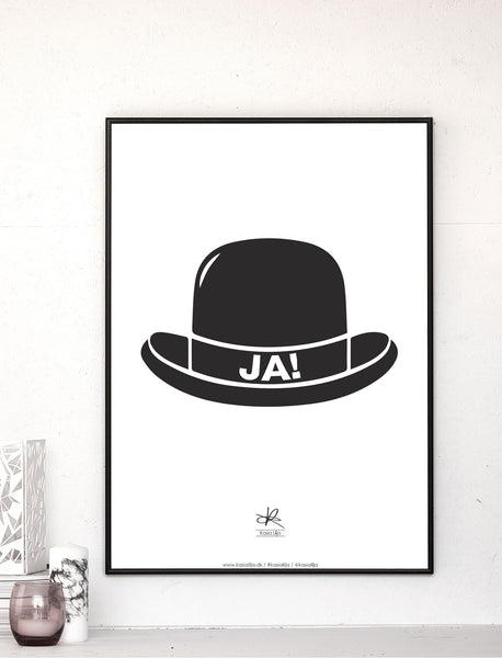 YES HAT! - Card / Poster