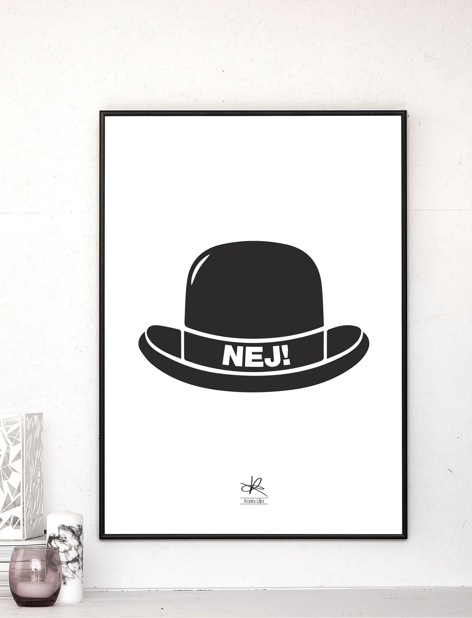 NO HAT! / Poster