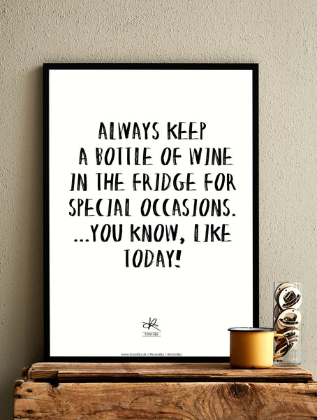 WINE / Poster - Card / Poster