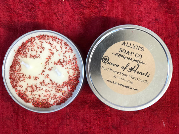 Queen of Hearts Soy Candle
